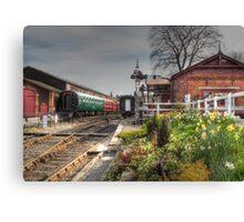 Tenterden Railway station  Canvas Print