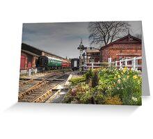 Tenterden Railway station  Greeting Card