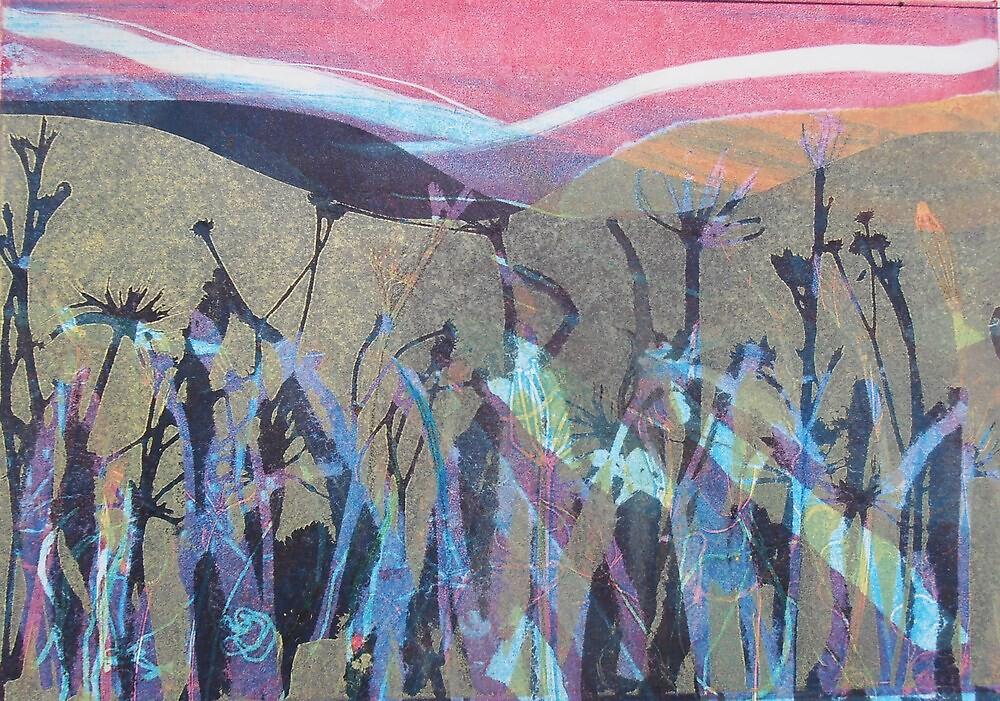 Riverbank Weeds  by Susan Duffey