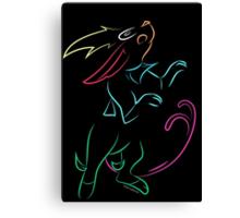 Eevolution Canvas Print