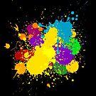Paint splat by aaronnaps