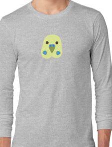 Green Budgie Long Sleeve T-Shirt