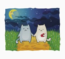 Cats under the moon Kids Clothes