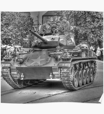 M24 Chaffee (Rebels Revenge) Poster