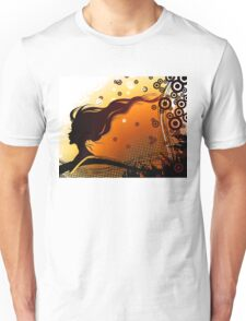 Silhouette of woman Unisex T-Shirt