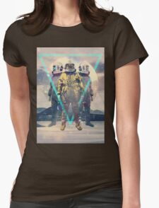 Lost In Transition Womens Fitted T-Shirt