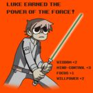 The Power of the Force (Light Shirt Version) by GhostGlide