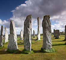 Callanish (Calanais) I, Callanish Stones, Lewis by Martin Lawrence