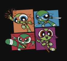 Power POP Turtles by DJKopet