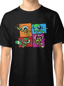 Power POP Turtles Classic T-Shirt