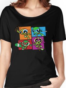 Power POP Turtles Women's Relaxed Fit T-Shirt