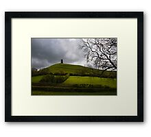 Glastonbury Tor Framed Print