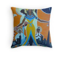 Emancipate Yourself from Medical Mental Slavery Throw Pillow