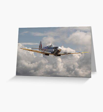 Spitfire - 145 Sqdn RAF Greeting Card