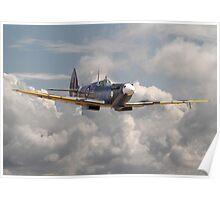 Spitfire - 145 Sqdn RAF Poster