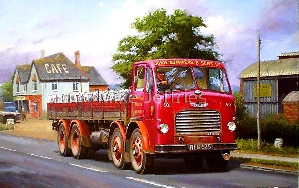 John Summers' Leyland. by Mike Jeffries