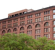 The Old Brick Building Downtown Denver by Sherry Hallemeier