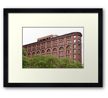 The Old Brick Building Downtown Denver Framed Print