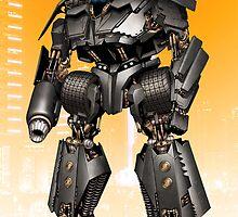 Batmobile Mecha Print by Mecha-Zone