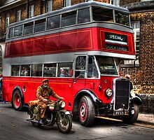 RV 6358-English Electric bodied Leyland Titan by larry flewers