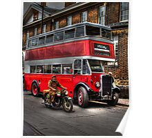 RV 6358-English Electric bodied Leyland Titan Poster