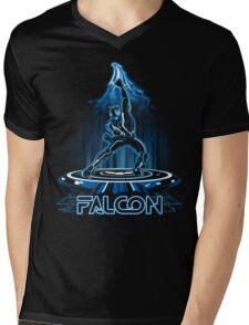 FALTRON Mens V-Neck T-Shirt