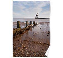 Dovercourt Beach & Lighthouse Poster