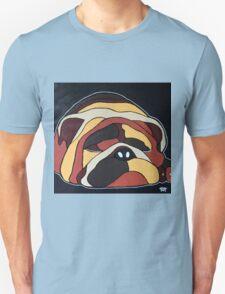 Abstract sleeping dog design T-Shirt