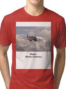 Spitfire - 145 Sqdn RAF Tri-blend T-Shirt