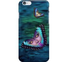 Butterfly Eyes done in photoshop iPhone Case/Skin
