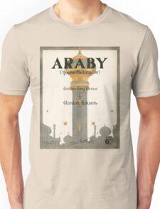 ARABY YOUR CALLING ME (vintage illustration) Unisex T-Shirt