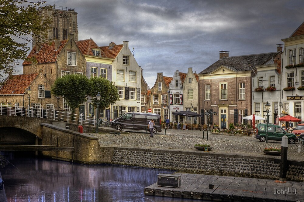 Holland.. Goedereede close to the City of Den Briel  by John44