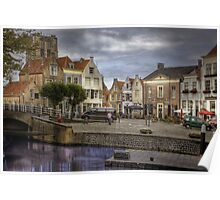 Holland.. Goedereede close to the City of Den Briel  Poster