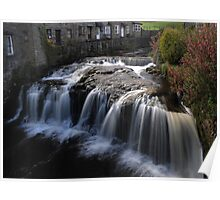 Hawes Waterfall Poster