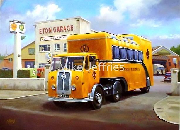 AA Seddon exhibition unit. by Mike Jeffries