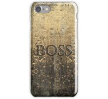 Boss Iphone Case iPhone Case/Skin