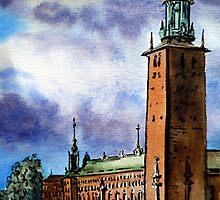 Stockholm Stadshus, Sweden by Irina Sztukowski