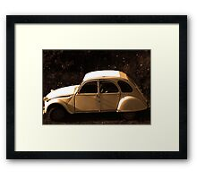 Cars 11 Framed Print