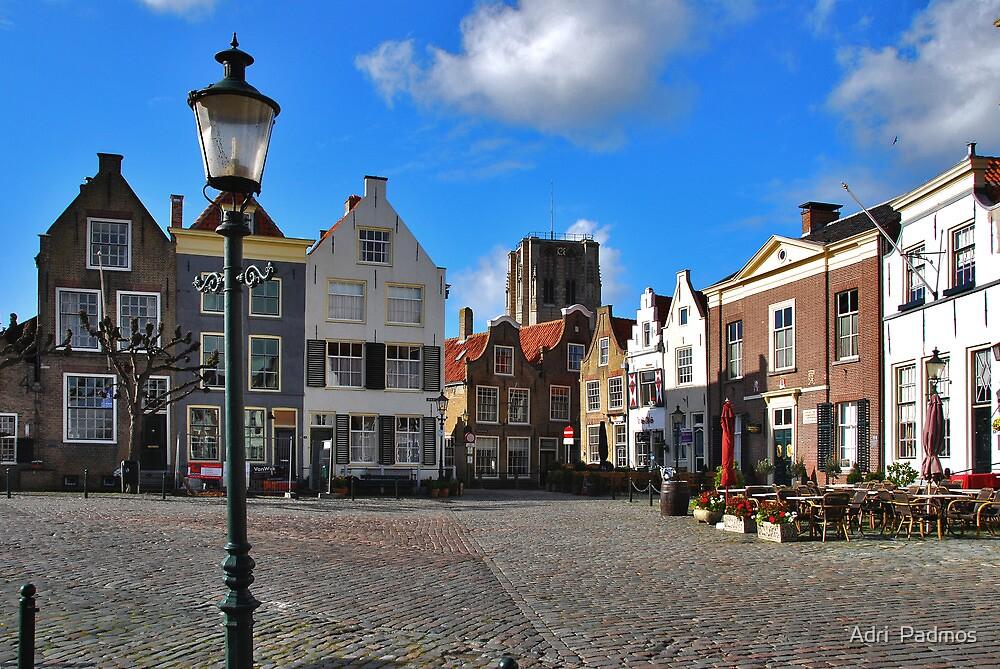 A very small Dutch town... by Adri  Padmos