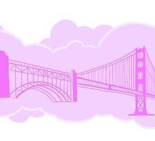 San Francisco Golden Gate Bridge  by Robin McGill