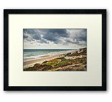 Hardelot, les dunes et le bunker Framed Print