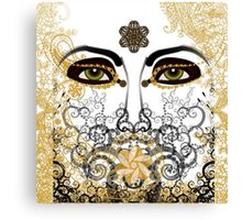 Eyes of Time Canvas Print