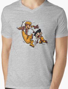 Logan and Victor Mens V-Neck T-Shirt