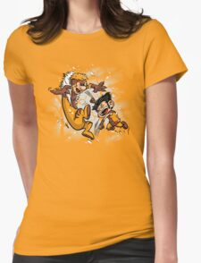 Logan and Victor Womens Fitted T-Shirt