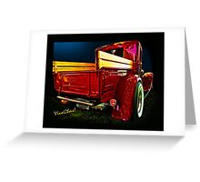 Texas Midnight Hauler Greeting Card
