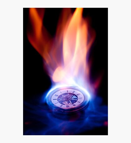 The Fires of Time V2  Photographic Print