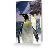 The Emperor Penguin Greeting Card