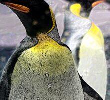 The Emperor Penguin Sticker