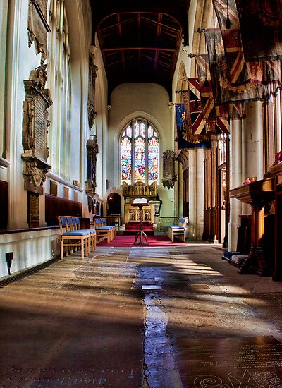 All Saints Maidstone Warriors Chapel by Dave Godden