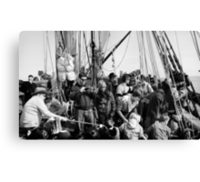 Group Pirate-ing  Canvas Print